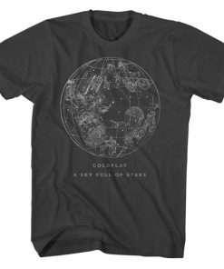 A Sky Full Of Stars Coldplay T-Shirt DB