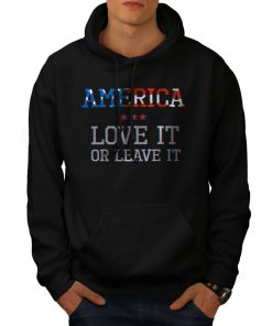 America-Patriot-Mens-Hoodie-Love-It-or-Leave-It-Casual-Hoodie DB