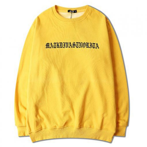 Ariana-Grande-Yellow-Sweatshirt DB