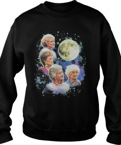 Bioworld The Golden Girls Women's Four Golden Girls Moon Sweatshirt DB