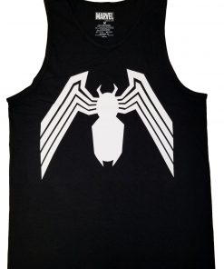 Details About Venom Symbol Spider-Man Marvel Comics Adult Tank Top DB