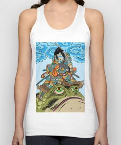 Drawing From Japanese Art Unisex Tank Top DB