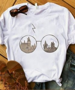 Eye Glasses Harry Potter T-shirt DB