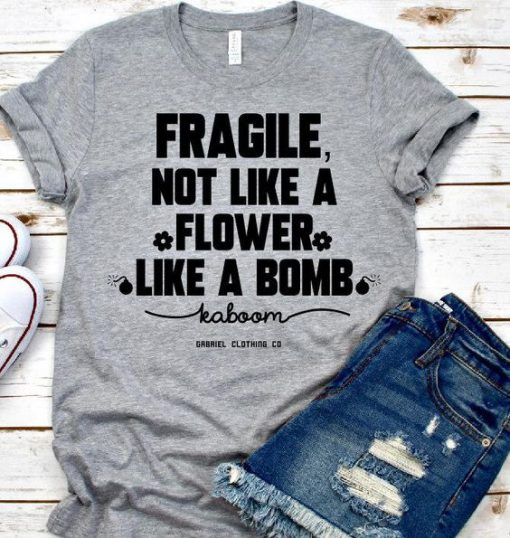 Flower Like A Bomb T-shirt DB