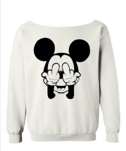 Fuck You Mickey Cute Sweatshirt DB