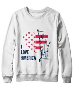 I Love America Sweetshirt DB