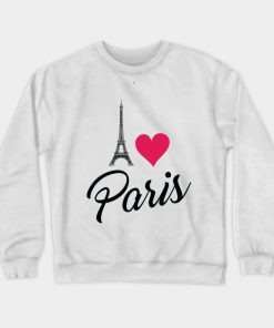 I Love Paris Cute Sweatshirt DB