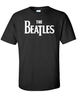 The Beatles T-Shirt Official Classic Rock Band Logo Tee DB