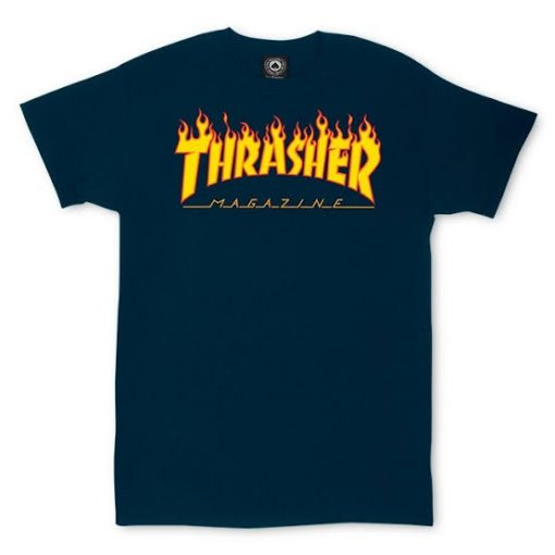 Thrasher magazine flame logo T Shirt DB