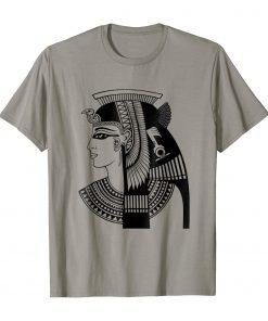 Cleopatra Egyptoan Pharaoh Ancient Egypt Graphic Tee T-Shirt DB