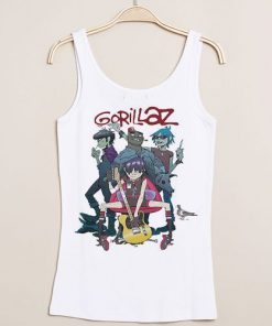 Gorillaz Alternative Pop Punk Rock Tank Top DB