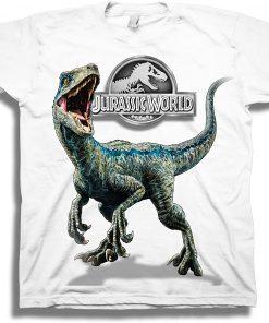 Jurassic World Blue Raptor Short Sleeve T-Shirt DB