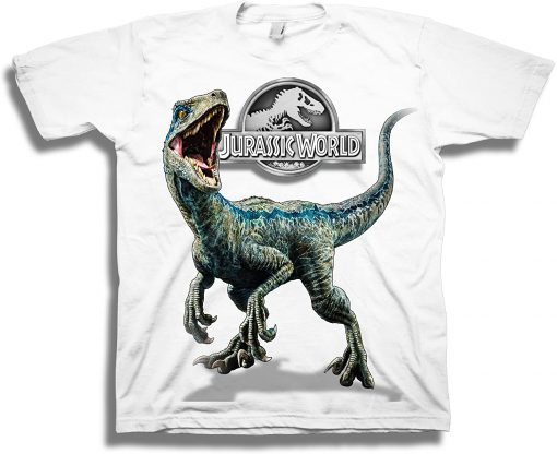 Jurassic World Blue Raptor Short Sleeve T-Shirt DB