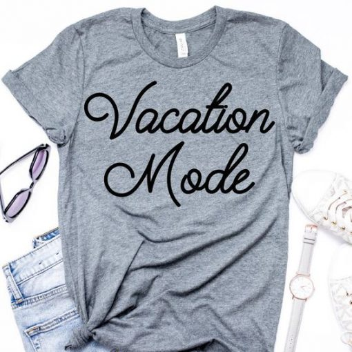 Vacation mode T shirt DB