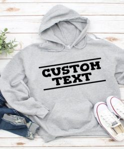 Custom Hoodie, Unisex Hoodie, Customized Pullover Sweatshirt, Personalized Hoodie, For Men, Women Custom Hoodie, Gift Idea, Design Your Own Hoodie DB