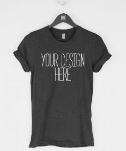 Custom t-shirt, personalized tee, bespoke t-shirt, men's tshirt, women's tshirt, American Apparel T-Shirt DB