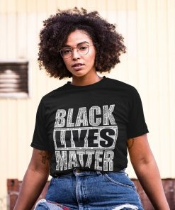 Black Lives Matter With Names Tshirt - blm shirt, say their names shirt, racial equality, equality shirt, blm with names shirt,FREE SHIPPING T-Shirt DB