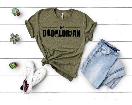 Dadalorian Tshirt,Star Wars Tshirt,Funny Star Wars Tee,Disney Star Wars,Gift for Dad,Fathers Day Gift,Mandalorian,Dadalorian,Fathers Day Tee DB