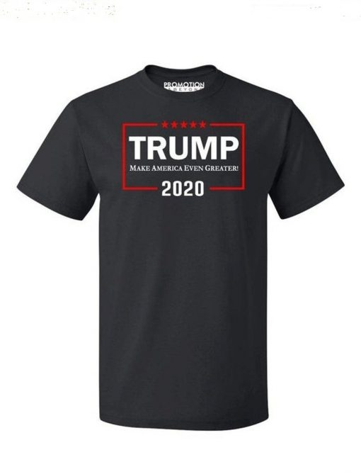 Donald Trump 2020 Even Greater White and Red Text - Men's T-shirt DB