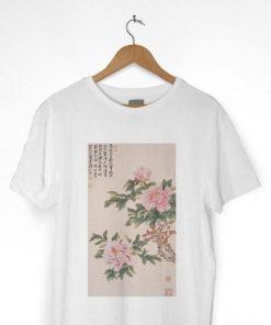 Japanese Flower Art T-Shirt