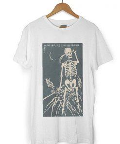 Vintage Japanese Skull Moon T-Shirt