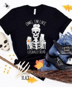 Funny Halloween pumpkin spice T-Shirt
