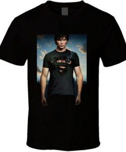 Smallville Burning Shirt T Shirt